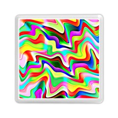 Irritation Colorful Dream Memory Card Reader (square)  by designworld65