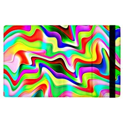 Irritation Colorful Dream Apple Ipad 2 Flip Case by designworld65