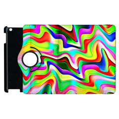 Irritation Colorful Dream Apple Ipad 3/4 Flip 360 Case by designworld65