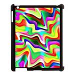 Irritation Colorful Dream Apple iPad 3/4 Case (Black)