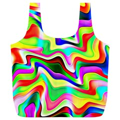 Irritation Colorful Dream Full Print Recycle Bags (l)  by designworld65