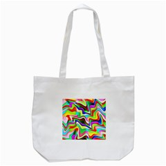Irritation Colorful Dream Tote Bag (white) by designworld65