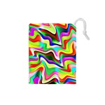 Irritation Colorful Dream Drawstring Pouches (Small)