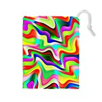 Irritation Colorful Dream Drawstring Pouches (Large)
