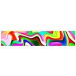 Irritation Colorful Dream Flano Scarf (Small)