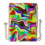 Irritation Colorful Dream Drawstring Bag (Large)