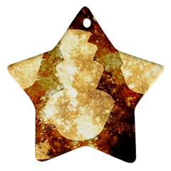 Sparkling Lights Star Ornament (two Sides)  by yoursparklingshop