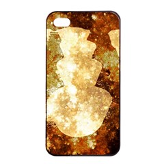 Sparkling Lights Apple Iphone 4/4s Seamless Case (black) by yoursparklingshop