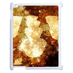 Sparkling Lights Apple Ipad 2 Case (white) by yoursparklingshop