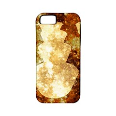 Sparkling Lights Apple Iphone 5 Classic Hardshell Case (pc+silicone) by yoursparklingshop
