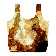 Sparkling Lights Full Print Recycle Bags (l)  by yoursparklingshop