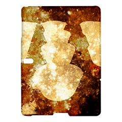 Sparkling Lights Samsung Galaxy Tab S (10 5 ) Hardshell Case  by yoursparklingshop