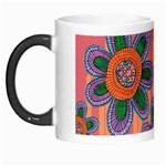Colorful Floral Dream Morph Mugs
