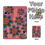 Colorful Floral Dream Playing Cards 54 Designs