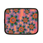 Colorful Floral Dream Netbook Case (Small)