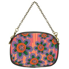 Colorful Floral Dream Chain Purses (one Side)  by DanaeStudio
