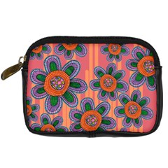 Colorful Floral Dream Digital Camera Cases by DanaeStudio