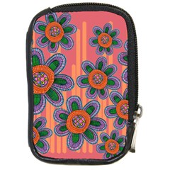 Colorful Floral Dream Compact Camera Cases by DanaeStudio