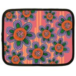 Colorful Floral Dream Netbook Case (XL)
