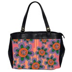 Colorful Floral Dream Office Handbags (2 Sides)