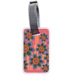 Colorful Floral Dream Luggage Tags (Two Sides)