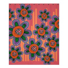 Colorful Floral Dream Shower Curtain 60  X 72  (medium)  by DanaeStudio