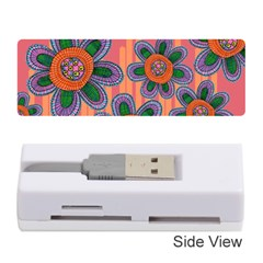 Colorful Floral Dream Memory Card Reader (stick)  by DanaeStudio