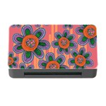 Colorful Floral Dream Memory Card Reader with CF