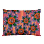 Colorful Floral Dream Pillow Case (Two Sides)