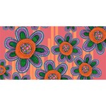 Colorful Floral Dream YOU ARE INVITED 3D Greeting Card (8x4)