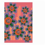 Colorful Floral Dream Small Garden Flag (Two Sides)