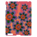 Colorful Floral Dream Apple iPad 3/4 Hardshell Case