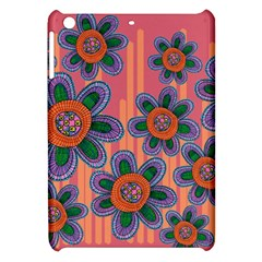 Colorful Floral Dream Apple Ipad Mini Hardshell Case by DanaeStudio
