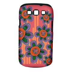 Colorful Floral Dream Samsung Galaxy S Iii Classic Hardshell Case (pc+silicone) by DanaeStudio