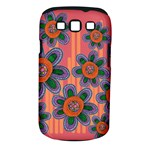 Colorful Floral Dream Samsung Galaxy S III Classic Hardshell Case (PC+Silicone)