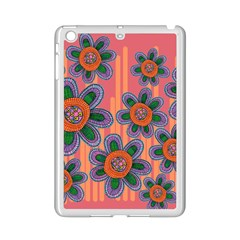 Colorful Floral Dream Ipad Mini 2 Enamel Coated Cases by DanaeStudio