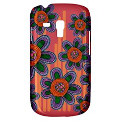 Colorful Floral Dream Samsung Galaxy S3 Mini I8190 Hardshell Case by DanaeStudio