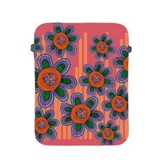 Colorful Floral Dream Apple Ipad 2/3/4 Protective Soft Cases by DanaeStudio