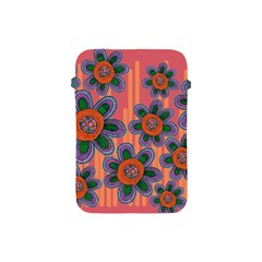 Colorful Floral Dream Apple Ipad Mini Protective Soft Cases by DanaeStudio