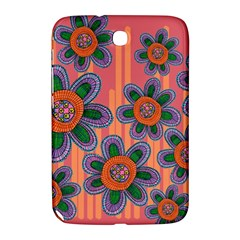 Colorful Floral Dream Samsung Galaxy Note 8 0 N5100 Hardshell Case  by DanaeStudio