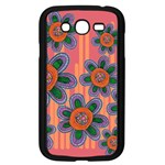 Colorful Floral Dream Samsung Galaxy Grand DUOS I9082 Case (Black)