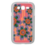 Colorful Floral Dream Samsung Galaxy Grand DUOS I9082 Case (White)