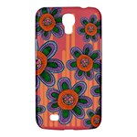 Colorful Floral Dream Samsung Galaxy Mega 6.3  I9200 Hardshell Case