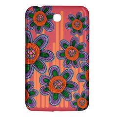 Colorful Floral Dream Samsung Galaxy Tab 3 (7 ) P3200 Hardshell Case  by DanaeStudio
