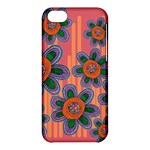 Colorful Floral Dream Apple iPhone 5C Hardshell Case