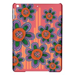 Colorful Floral Dream Ipad Air Hardshell Cases by DanaeStudio