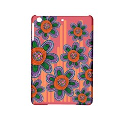 Colorful Floral Dream Ipad Mini 2 Hardshell Cases by DanaeStudio