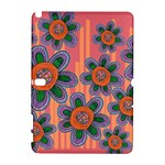 Colorful Floral Dream Samsung Galaxy Note 10.1 (P600) Hardshell Case