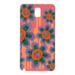Colorful Floral Dream Samsung Galaxy Note 3 N9005 Hardshell Back Case