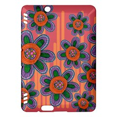 Colorful Floral Dream Kindle Fire Hdx Hardshell Case by DanaeStudio